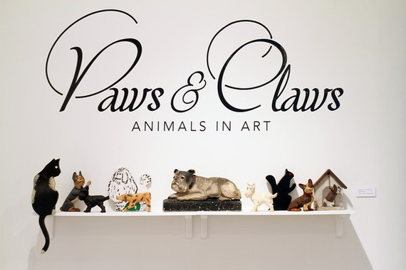 PAWS & CLAWS: ANIMALS IN ART  By Elizabeth Sobieski