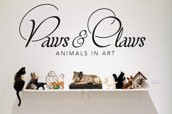 PAWS & CLAWS: ANIMALS IN ART  By Elizabeth Sobieski